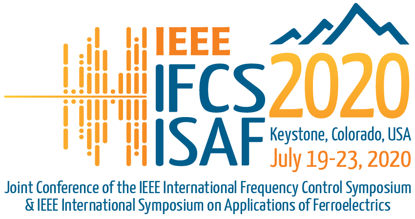 IEEE IFCS ISAF 2020 logo banner